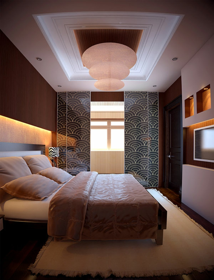 schlafzimmer einrichten beispiele neutrale farben teppich