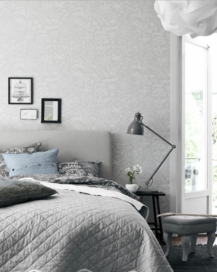 stunning schlafzimmer einrichten graues bett contemporary - house