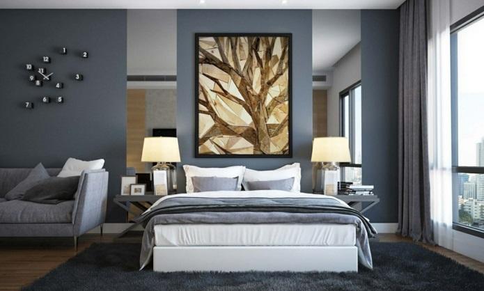 Schlafzimmer Einrichten Gestaltung Schlafzimmer Ideen Relax Gedeckt .
