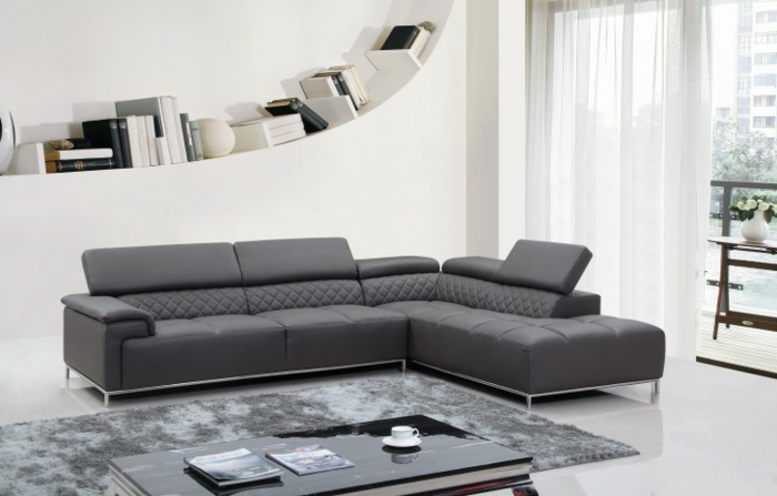 1001 sofa grau beispiele warum sie ein sofa genau. Black Bedroom Furniture Sets. Home Design Ideas