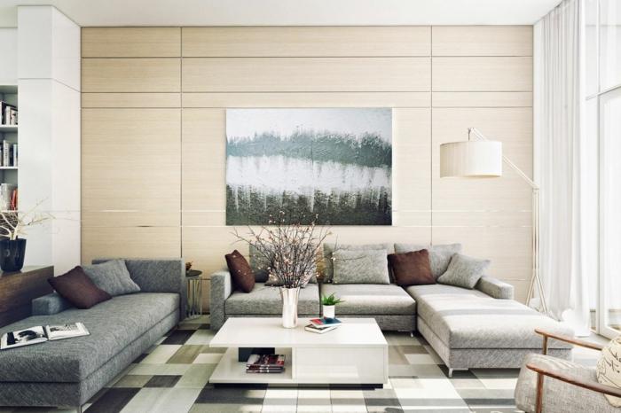 Wohnzimmer Sofa Grau : Sofa grau - 50 Beispiele, warum Sie ein Sofa ...