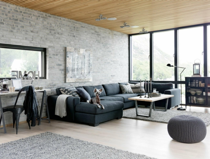 design : wohnzimmer grau schwarz weiß ~ inspirierende bilder von ...