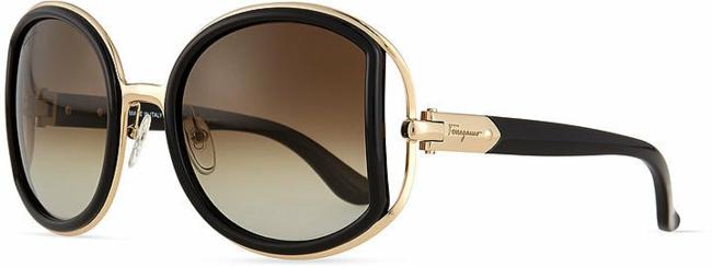 sonnenbrillen-braune-brillenfassung-brillengestell-oval-schwarz-gold-sternzeichen-schütze