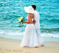 Strandhochzeit- wer heute noch heiratet, tut es am Strand