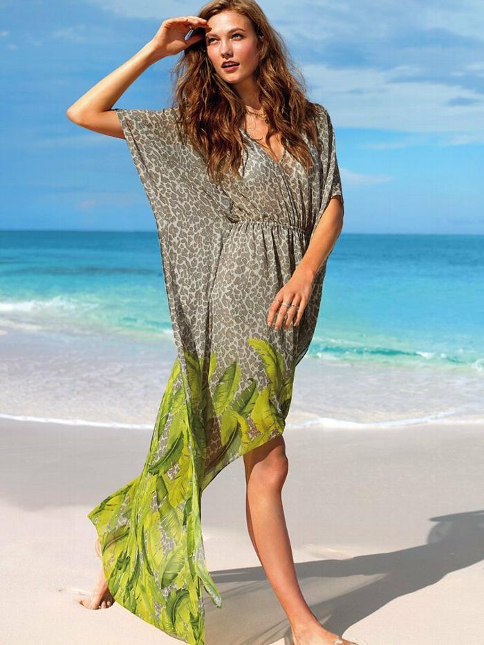 strandmode strandkleider chiffon urlaub kleid