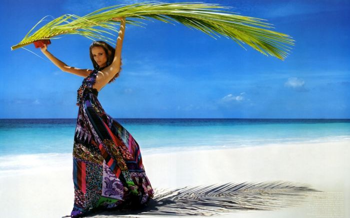 strandmode strandkleider urlaub meer strand sand