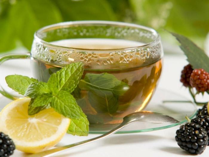 tee zubereiten melissentee gesunde ernährung