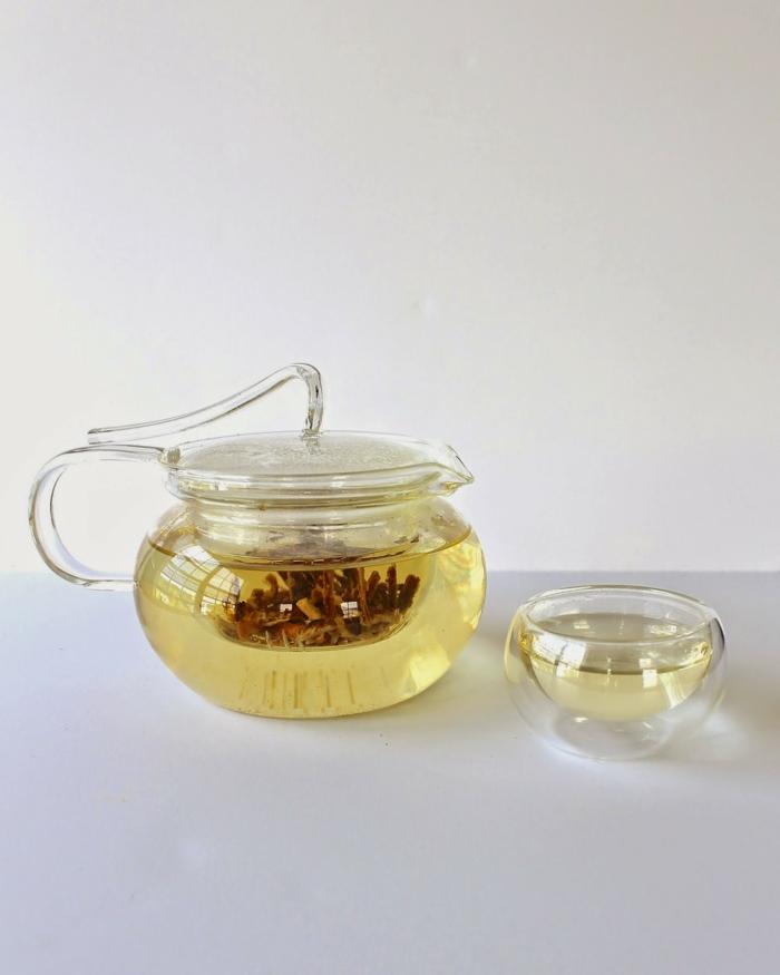 tee zubereiten misteltee gesund gesunde ernährung