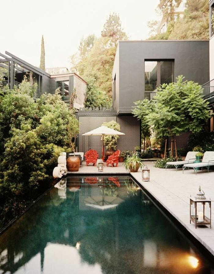 terrassenüberdachung feuerstelle gartenmöbel luxus
