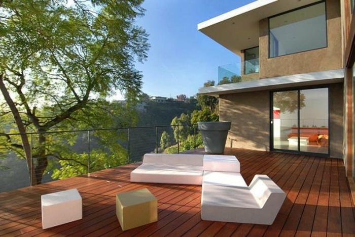 terrassenüberdachung feuerstelle gartenmöbel reduziert