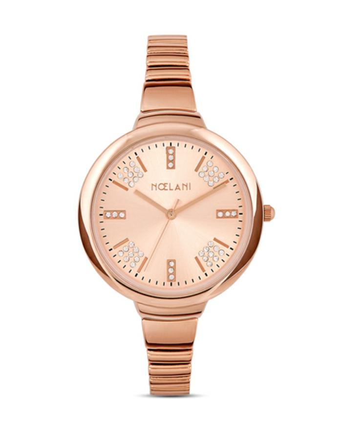 uhr rosegold armbanduhr damenmode noelani