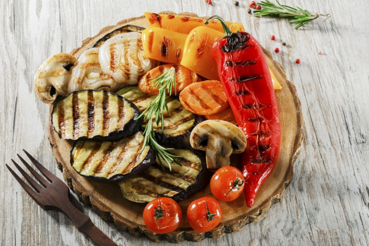 vegetarische Grillrezepte gegrillte Gemüsesorten leckere Gerichte