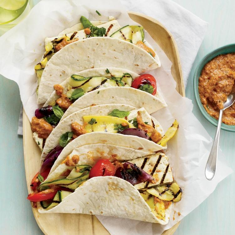 vegetarische Grillrezepte vegetarische Gerichte mexikanische Küche