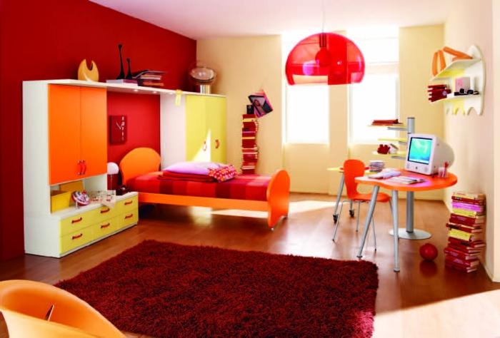 Wande Streichen Ideen Kinderzimmer : 50 Farbige Wände, welche der zeitgenössischen Wohnung Charakter
