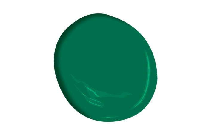 wandfarben wandfarbe palette beispiele vollton grün dunkel 3