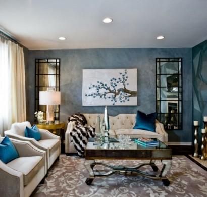 44 wandgestaltung ideen wie sie den raum beleben - Wohnideen wohnzimmer wandgestaltung ...