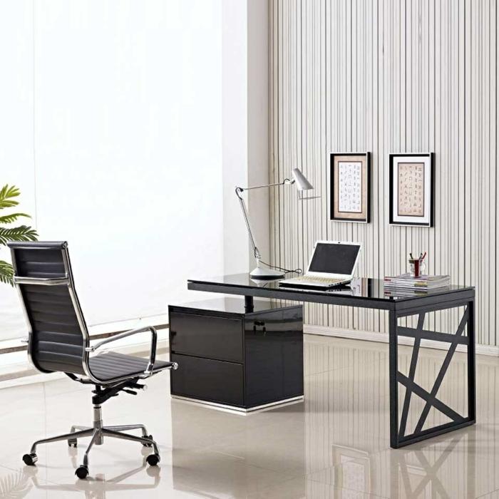 Muster Schwarz-Weiß wandgestaltung mit Farbe wandgestaltung schwarz weiß buero einrichten