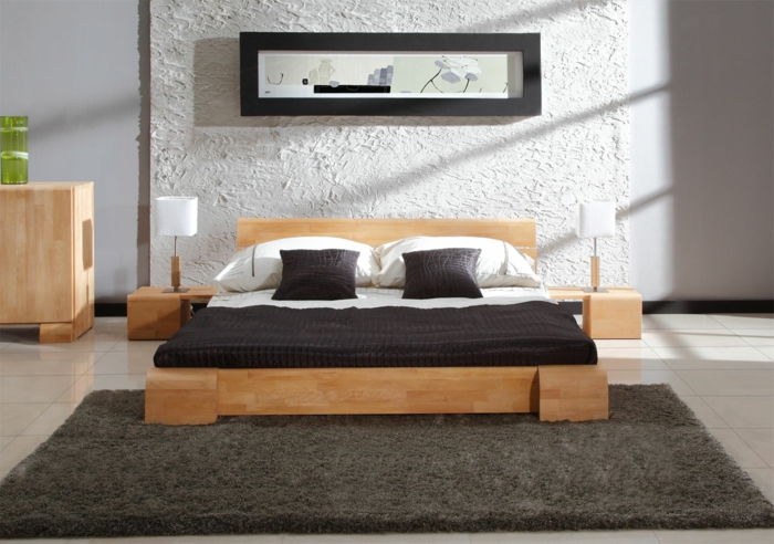 wasserbett holz. Black Bedroom Furniture Sets. Home Design Ideas