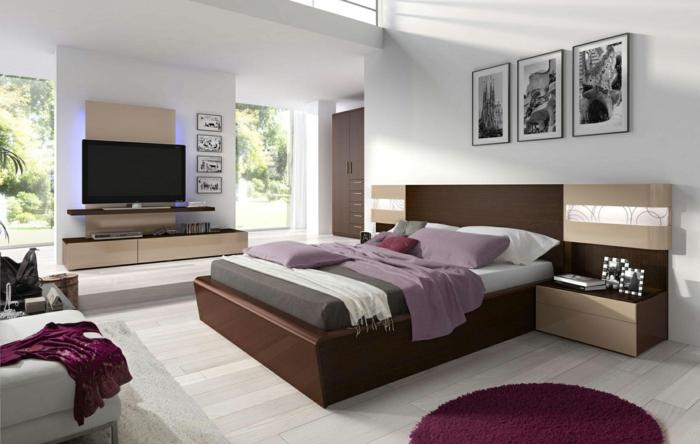 110 schlafzimmer einrichten beispiele entwickeln sie ihr - Braunes schlafzimmer ...