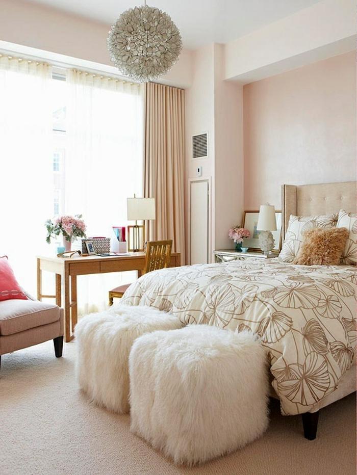Schlafzimmer Gardinen Gestalten : Gardinen schlafzimmer gestalten ~ Wohnideen schlafzimmer teppichboden