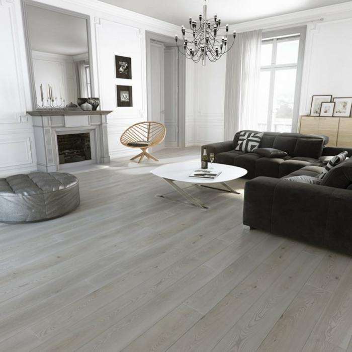 wohnideen wohnzimmer geräumig modern neutrale farbtöne