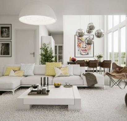 wohnzimmerdeko - 24 beispiele, wie man ein schönes ambiente schafft - Schone Wohnzimmer Deko