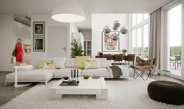 edle wohnzimmer dekoration. Black Bedroom Furniture Sets. Home Design Ideas