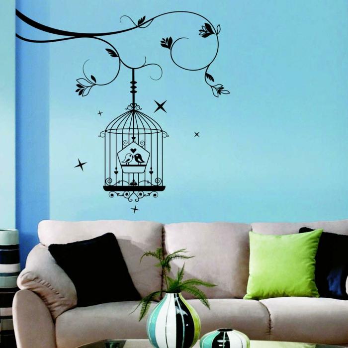 Wohntrends - 44 Beispiele, wie Sie das Wohnzimmer in Schritt mit den ...
