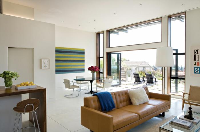 wohntrends wohnideen wohnzimmer umweltfreundlich einrichten offener wohnplan
