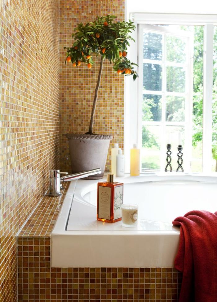 Mit zimmerpflanzen das zuhause dekorieren 60 beispiele wie sie das verwirklichen - Badezimmer mit pflanzen ...