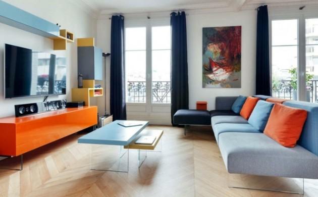 wohnung-einrichten-ideen-wohnzimmer-blaunuancen-möbel