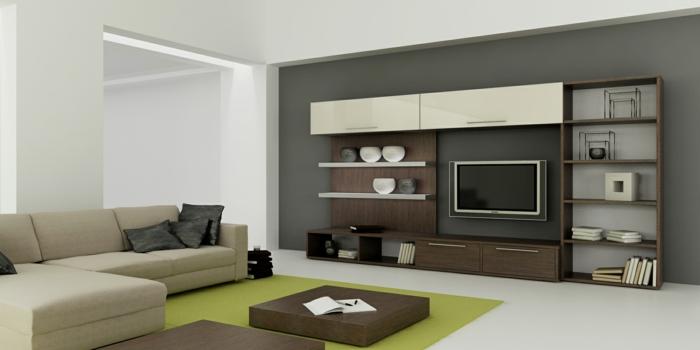Wohnzimmer Modern Einrichten Kleines Beispiele