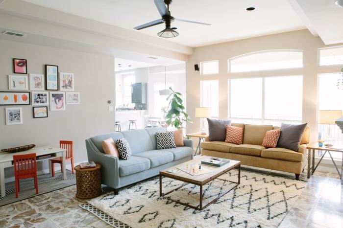 Wohnzimmer Fliesen 86 Beispiele Warum Sie Den Wohnzimmerboden Mit