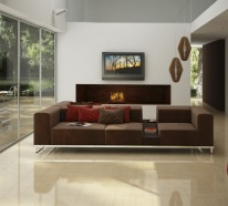 Wohnzimmer Fliesen, Welche Für Einen Höheren Stil Im Innendesign Sorgen