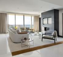 Wohnzimmer Fliesen – 86 Beispiele, warum Sie den Wohnzimmerboden mit Fliesen verlegen