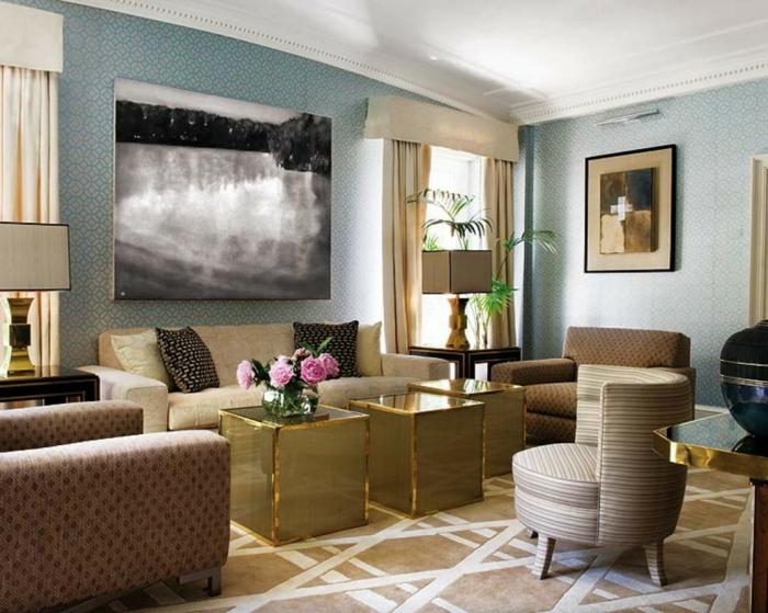 Gardinen wohnzimmer ein accessoire mit vielen funktionen for Exklusive wohnzimmer tische