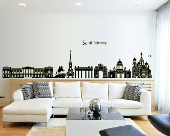 44 Wandgestaltung Ideen, wie Sie den Raum beleben