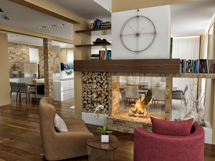 coole wohnzimmer ideen:133 Wohnzimmer einrichten Beispiele, welche Ihre Einrichtungslust