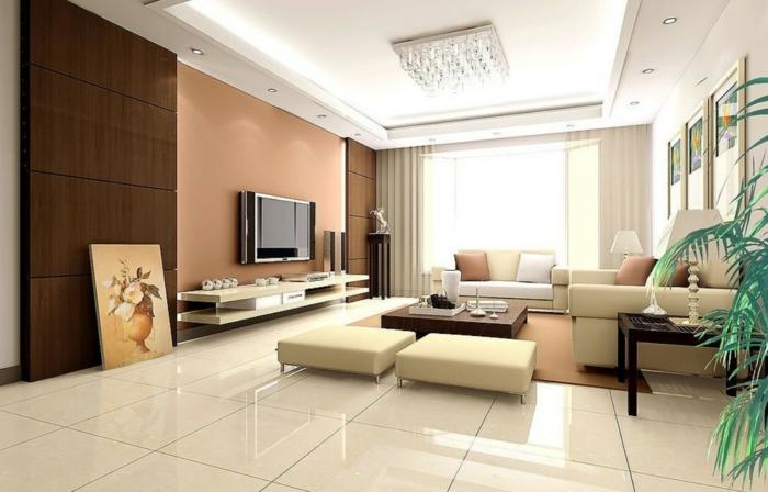 Wohnzimmer Fliesen - 86 Beispiele, Warum Sie Den Wohnzimmerboden