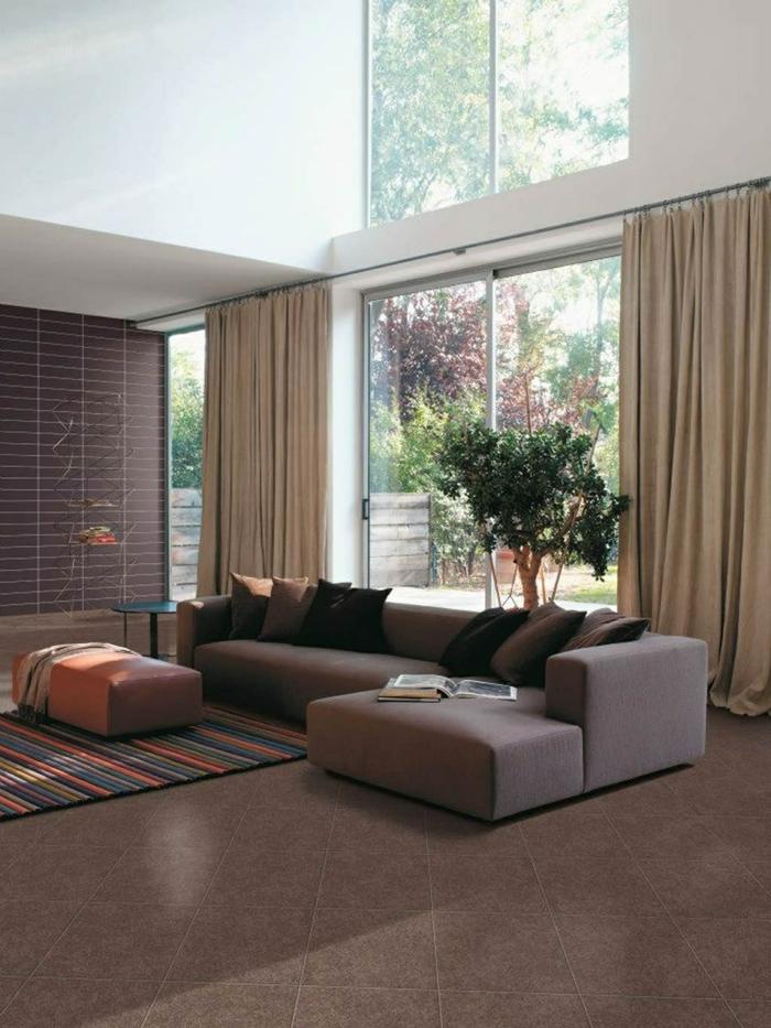 Wohnzimmer Fliesen - 86 Beispiele, warum Sie den Wohnzimmerboden ...