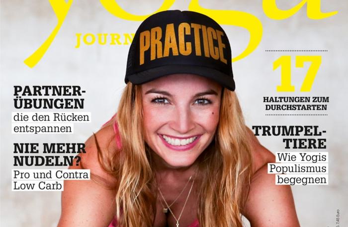 yoga journal zeitrschrift magazin neu heft 2016