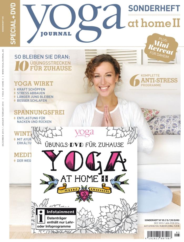yoga journal zeitrschrift magazin sonderheft yoga at home