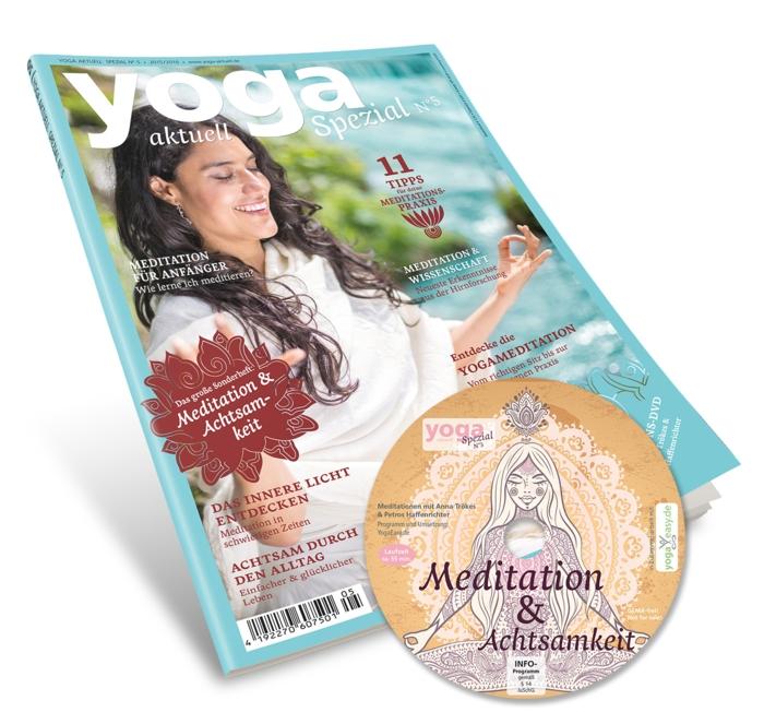 yoga zeitschrift aktuell spezial sonderheft 5 meditation achtsamkeit cd