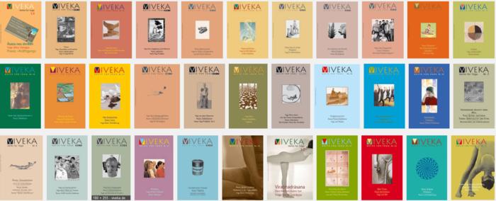 yoga zeitschrift viveka hefte für yoga