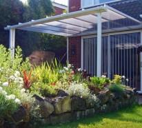 ▷ 1000 ideen für moderne Terrassengestaltung aus Stein, Holz ...