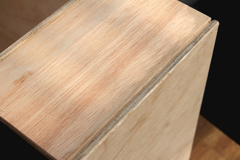 Büroaccessoires Stehsammler aus Holz selber bauen Bürozubehör Holz