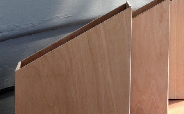kreative mbel selber bauen pappmaschee pappe schema nachttisch diy - Mbel Selber Bauen Baumholz