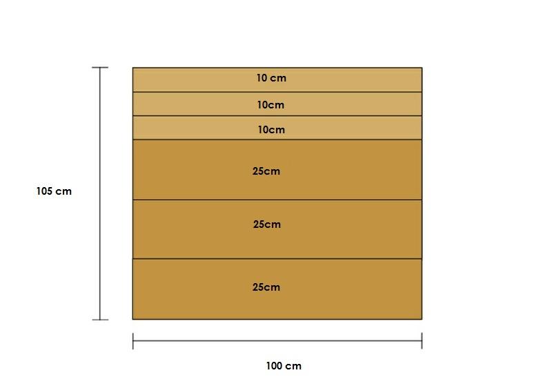 Büroaccessoires Stehsammler aus Holz selber bauen Maße