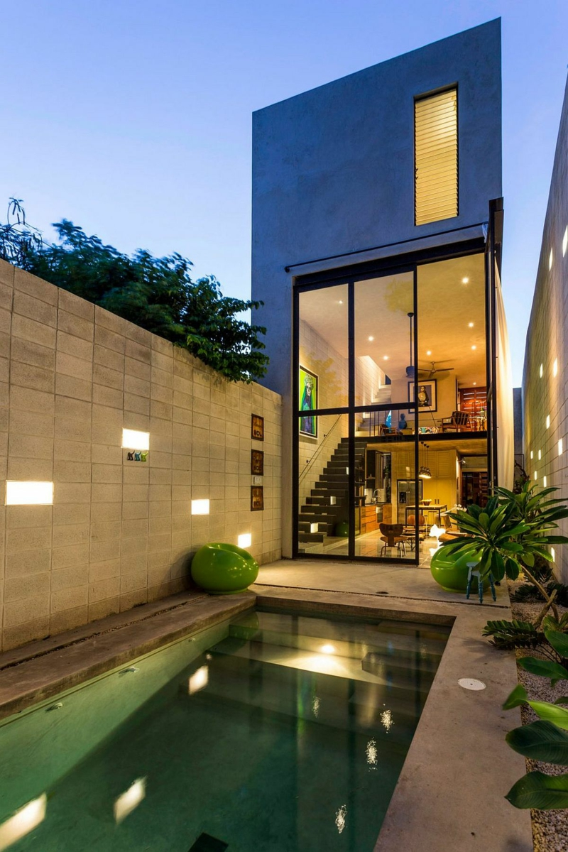 Casa Desnuda Merida Mexico Moderne Häuser bauen Architektenhäuser