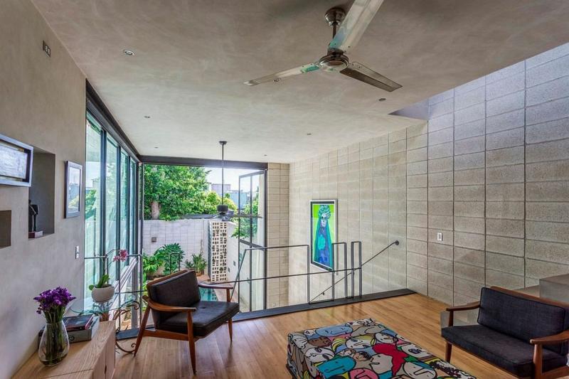 Casa Desnuda Merida Mexico Moderne Häuser bauen Wohnraum